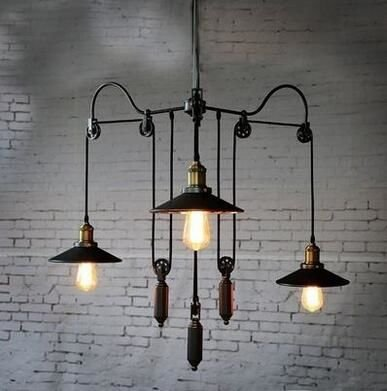 Светильники лофт как завершающий штрих индустриального стиля