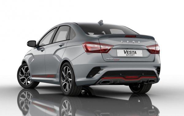 LADA Vesta Sport превзойдет KIA Rio и Hyundai Solaris по мощности и скорости