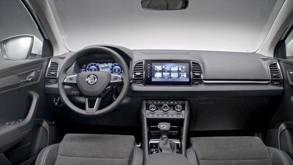 Рассекречен интерьер нового кроссовера Volkswagen Tharu