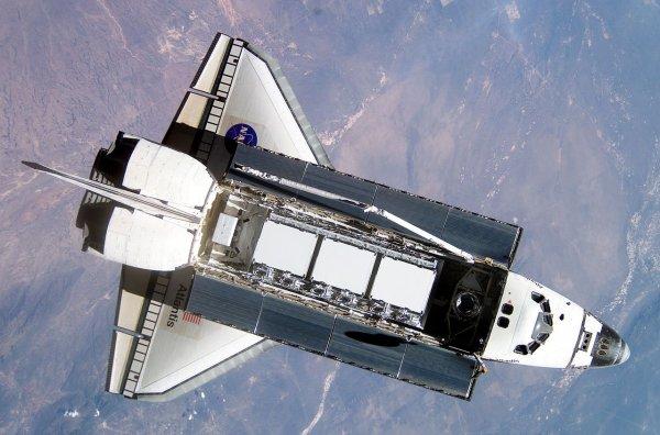 Органическое инопланетное создание увидел американский астронавт в шаттле