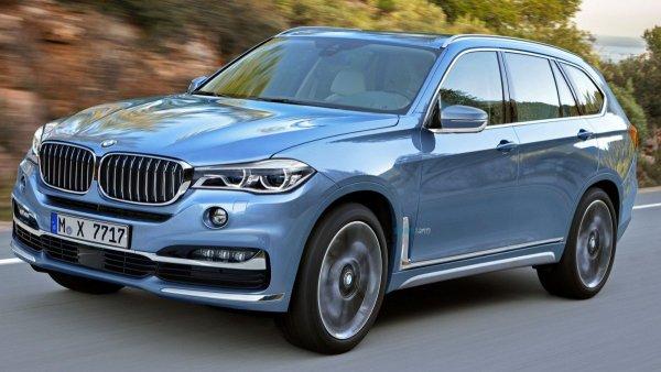 BMW показал в сети новое видео с кроссовером BMW X7
