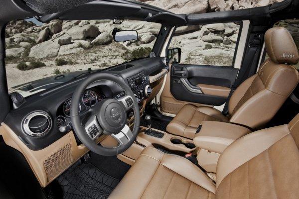 К дебюту готовят новый «заряженный» внедорожник Jeep Wrangler Moab Edition