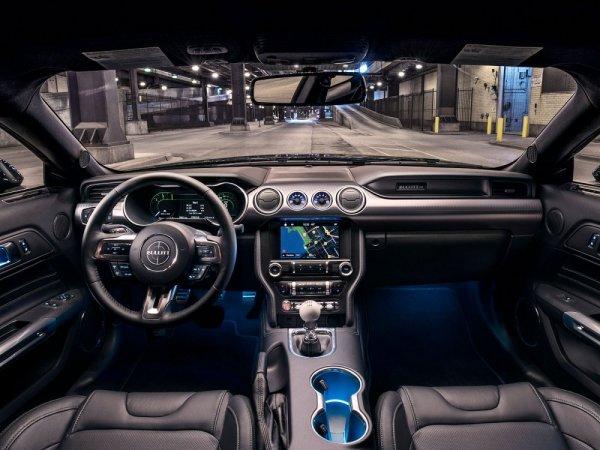 Тюнинг-ателье Steeda представило свой Ford Bullitt Mustang