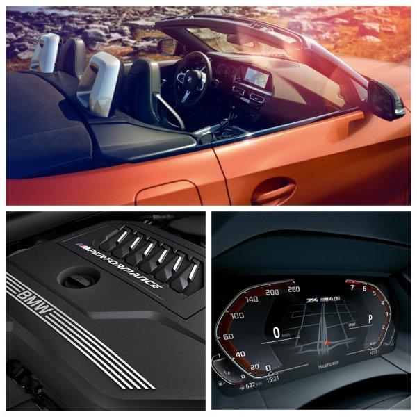 Родстер BMW Z4 нового поколения полностью рассекречен в сети