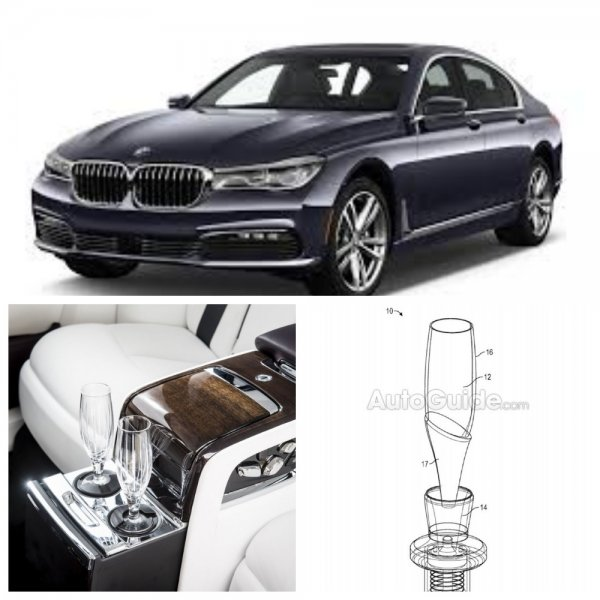 В BMW создали систему наполнения бокалов, не проливая жидкость
