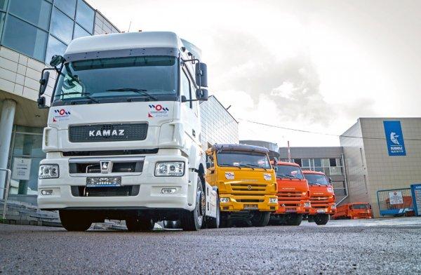 «КАМАЗ» поставил крупную партию обновлённых тягачей КАМАЗ 5490 Neo