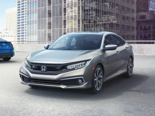 Стартовали продажи обновлённой Honda Civic 2019