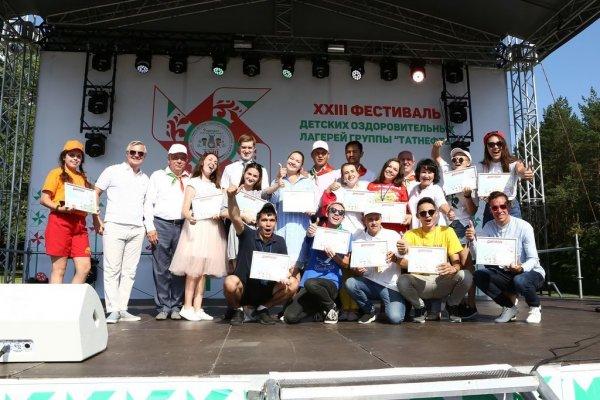 KAMA TYRES устроил автограф-сессию с Тимерзяновым на фестивале детских лагерей «Татнефти»