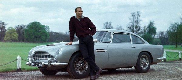 Aston Martin выпустит 25 «бондовских» DB5 со шпионскими гаджетами
