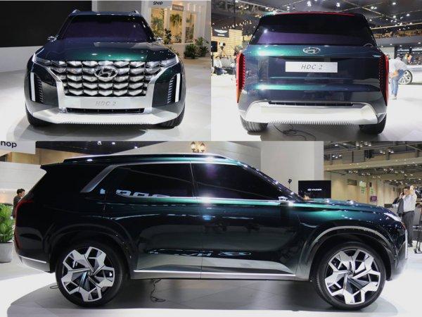 Hyundai может выпустить полноразмерного конкурента Toyota Land Cruiser 200