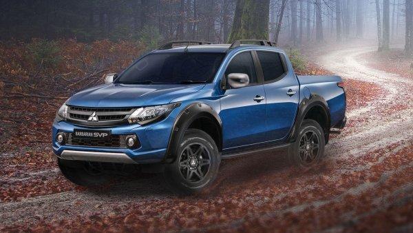 Обновленный пикап Mitsubishi L200 появится в России