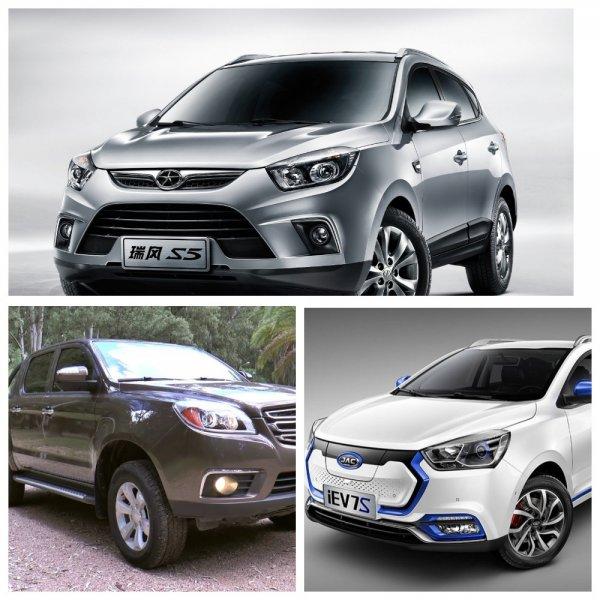 На Московский автосалон приедет четыре модели компании JAC