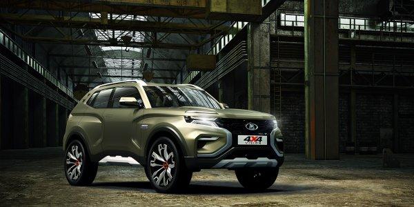 Новая LADA 4x4 Vision затмила лимузин «Кортеж» на Московском автосалоне