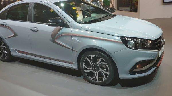На Московском автосалоне официально представили новый LADA Vesta Sport