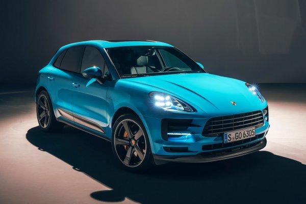 Porsche поставила на конвейер обновленный Macan