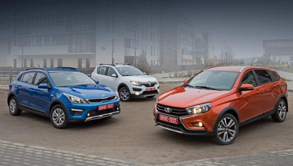Назван ТОП-10 самых распространённых в России легковых автомобилей