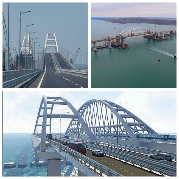 С момента открытия по Крымскому мосту проехало более 2 млн машин