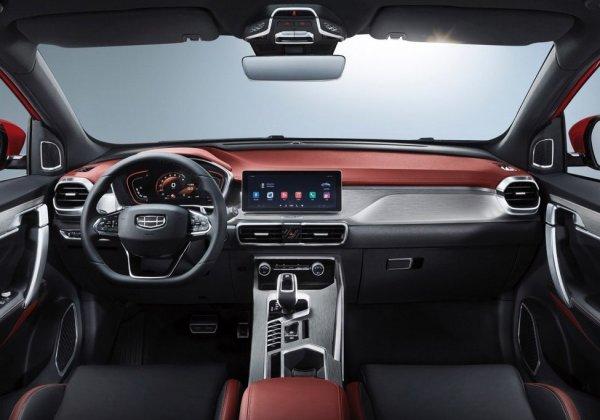 Geely показала на ММАС-2018 новое кросс-купе Geely SX11