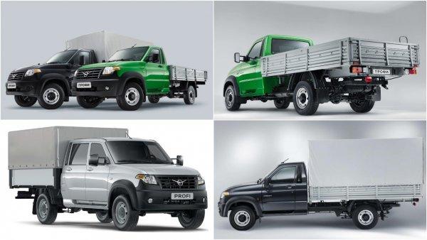 УАЗ выпустит «большой» грузовик УАЗ «Профи»