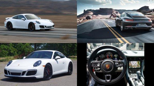 Спорткар Porsche 911 признан лучшим автомобилем 2018 года