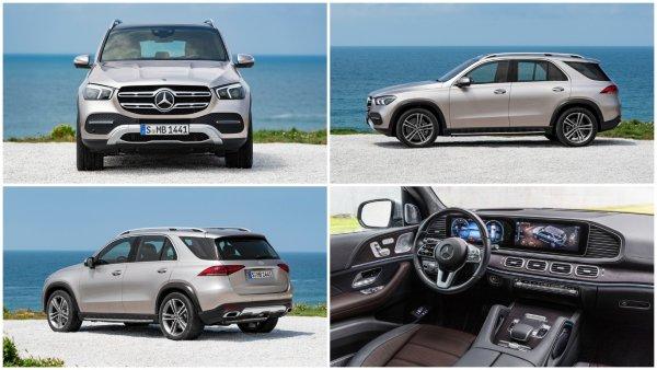 Mercedes-Benz представил кроссовер GLE нового поколения