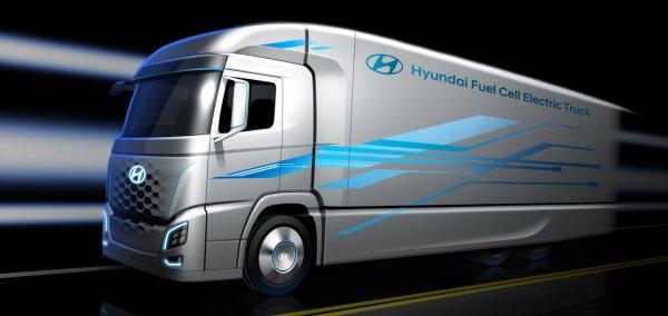 Рассекречен водородный грузовик Hyundai