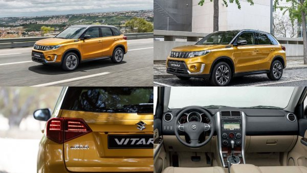 В Европу приехал обновленный Suzuki Vitara с новым турбомотором