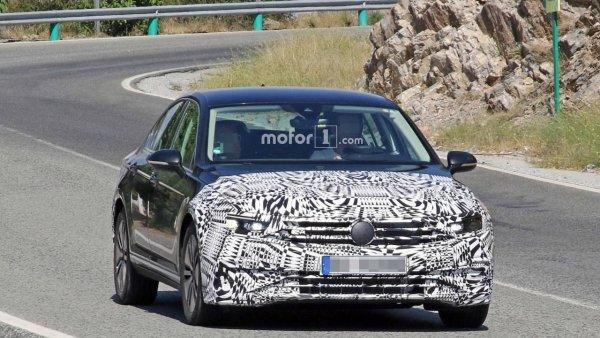 Volkswagen разработал обновление для седана Passat