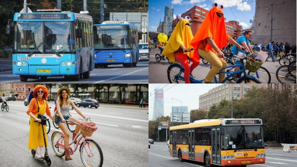 Московский велопарад 2018: Общественный транспорт меняет маршруты