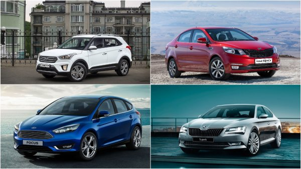 Названы самые популярные в России автомобили по сегментам