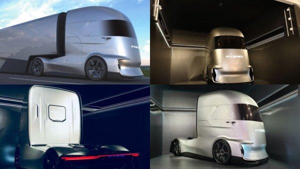 Ford представил беспилотный электрический тягач - «убийцу» Tesla Semi