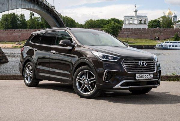 Кроссовер Hyundai Grand Santa Fe в ноябре уходит с авторынка России