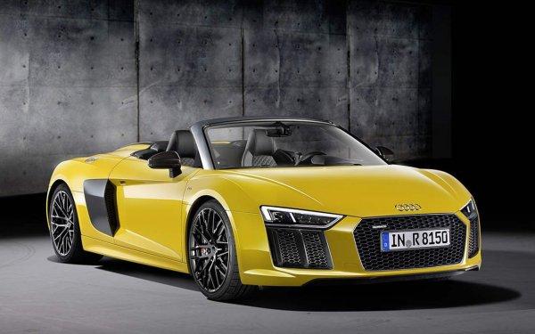 Audi приступил к дорожным тестам нового родстера Audi R8 Spider