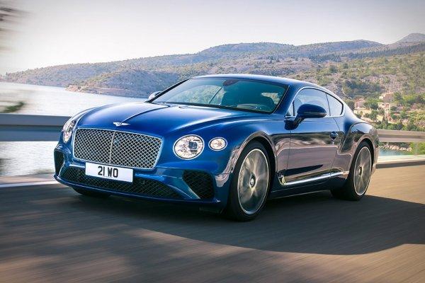 В России продается купе Bentley Continental GT