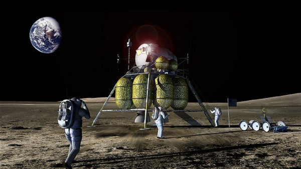 «Полет на Луну за 180 млн»: РКК «Энергия» посоревнуется со Space X в космическом туризме