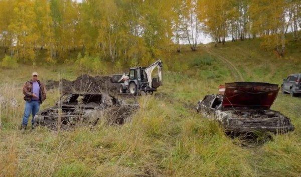 Без слёз не взглянешь: В сети показали «Жигули», Toyota и Audi после года под землёй