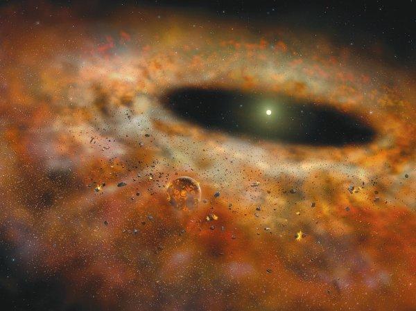 Учёные узнали, что протопланетные диски на самом деле не создают планеты
