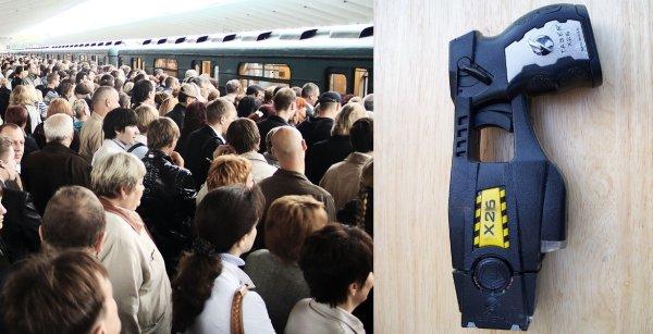 Охранники в общественном транспорте получат электрошокеры