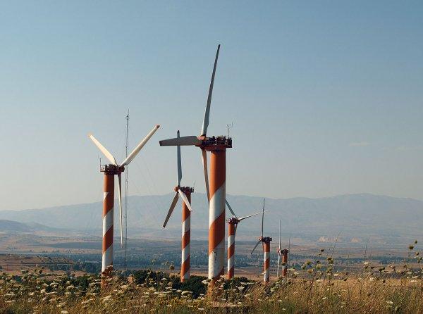 Ветряные электростанции приводят к локальному потеплению
