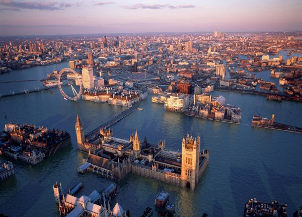 Ученые: Крупным городам мира грозит затопление