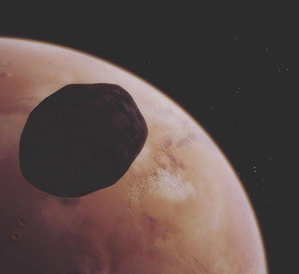 Ученые назвали Фобос огромным осколком Марса