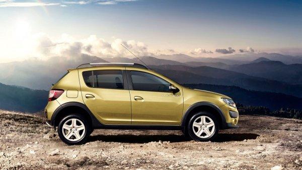Renault назвала российские цены на Logan и Sandero? во внедорожной версии Stepway
