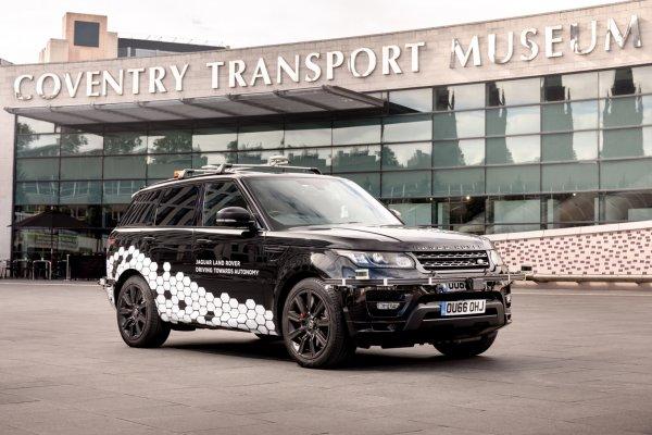 Беспилотный Range Rover Sport покорил сложнейшую трассу Англии