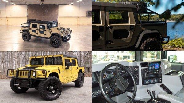 Американские тюнеры представили рестмод Hummer H1 за 16 000 000 рублей