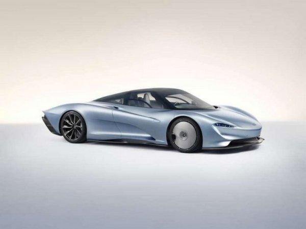 Опубликованы первые фото самого быстрого гиперкара McLaren