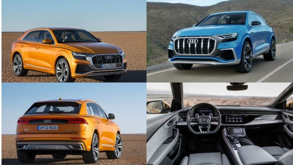 В РФ начали собирать предзаказы на новый купеобразный Audi Q8