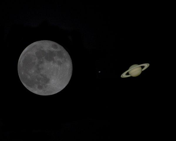 Поцелуй Луны с Сатурном москвичи смогут увидеть уже 11 ноября