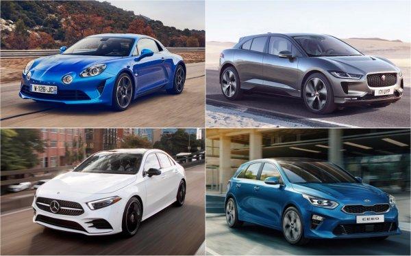 Озвучены финалисты конкурса «Европейский автомобиль года»