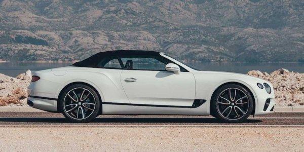 Новый Bentley Continental GT обзавелся мягкой крышей Tweed