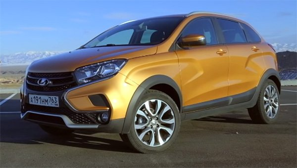 «АвтоВАЗ» начал продажи обновлённого Lada XRAY 2019